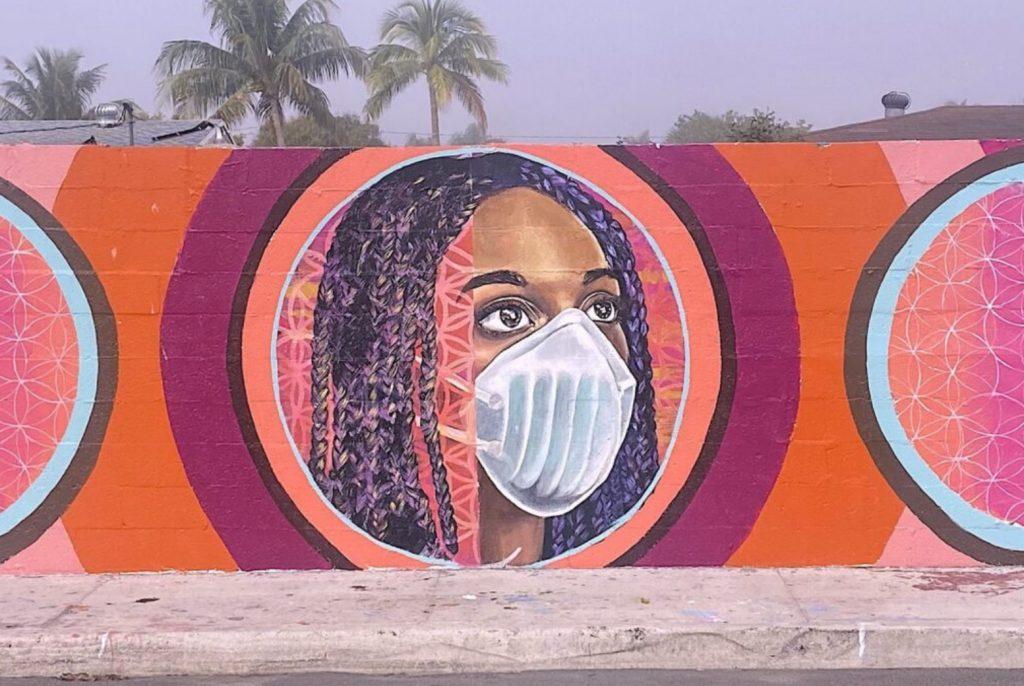 "Lindsay McGlynn Mural ""Essential """